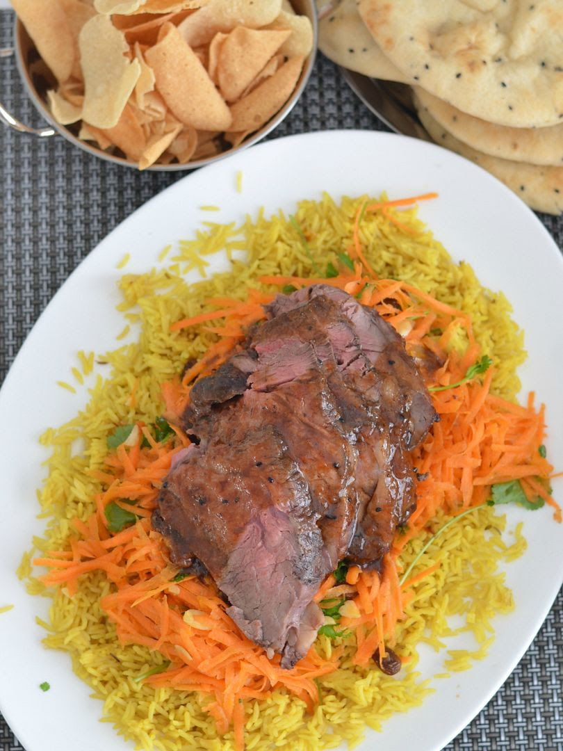 Midweek #Miniroast Beef with Mango Chutney