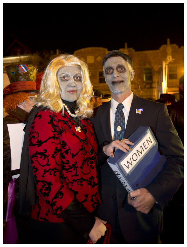 Halloween in the CWE 2012 24 (Gov. and Mrs. Romney)