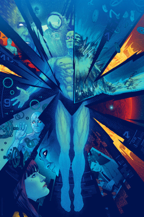 Dr. Manhattan by Kevin Tong