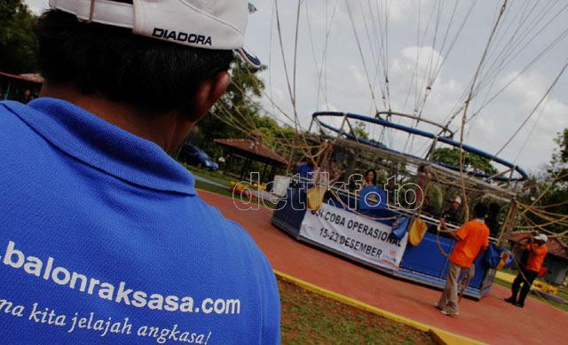 Balon Udara Raksasa Hadir di TMII