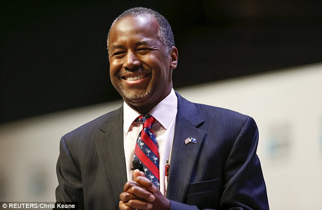 BEST. BIRTHDAY. EVER. Ben Carson turned 64 today and received two presents in South Carolina - an audience of Republicans singing 'Happy Birthday' and NO Donald Trump