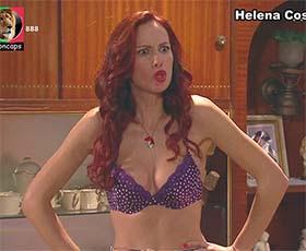 Helena Costa sensual na novela Mundo ao Contrário