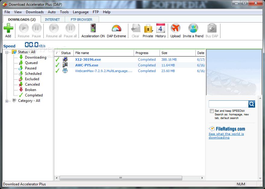 نتيجة بحث الصور عن Download Accelerator Plus [DAP]