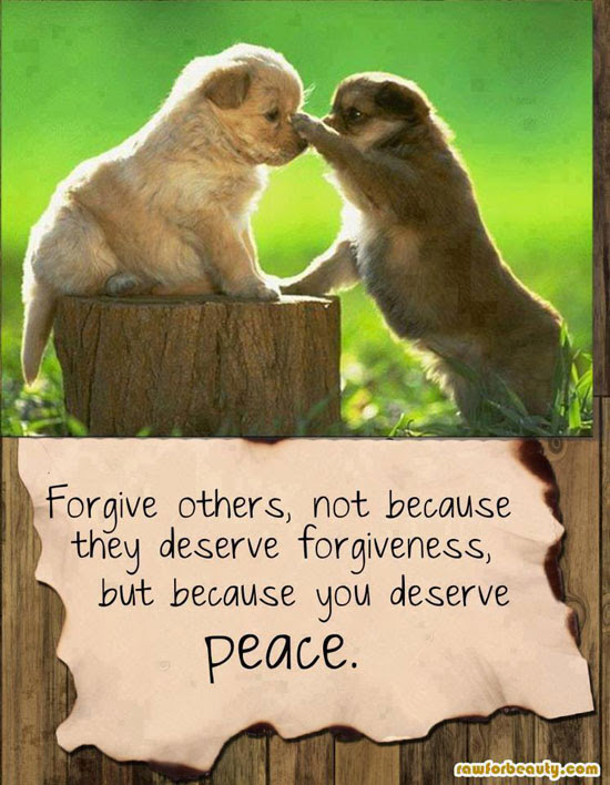 Forgive Others Not Because They Deserve Forgiveness But Because