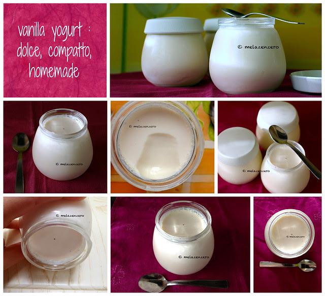 vanilla yogurt homemade