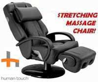 Sharper Image Ht 270 Stretching Human Touch Robotic Massage Chair