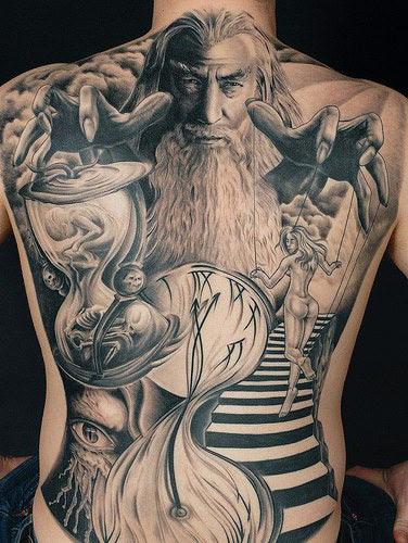 Imágenes De Tatuajes En La Espalda Imágenes