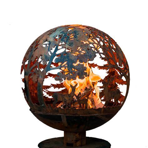 fire sphere wildlife xl esschert design usa