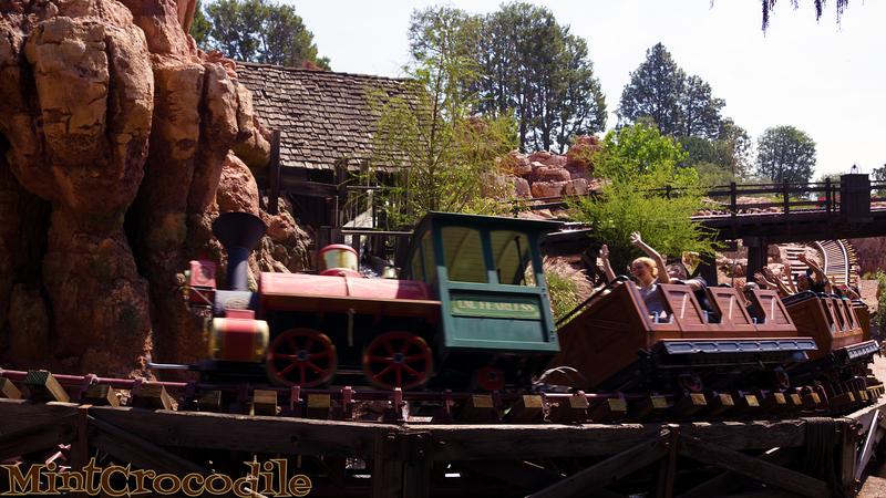 Disneyland Resort, Disneyland, Big Thunder Mountain Railroad, Big Thunder, Big Thunder Mountain, April Fools, April Fool's Day