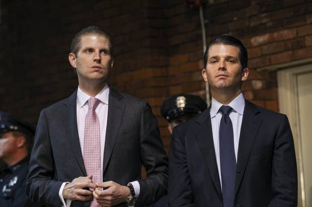 For just $1 million, you can kill animals with Donald Trump Jr. and Eric Trump