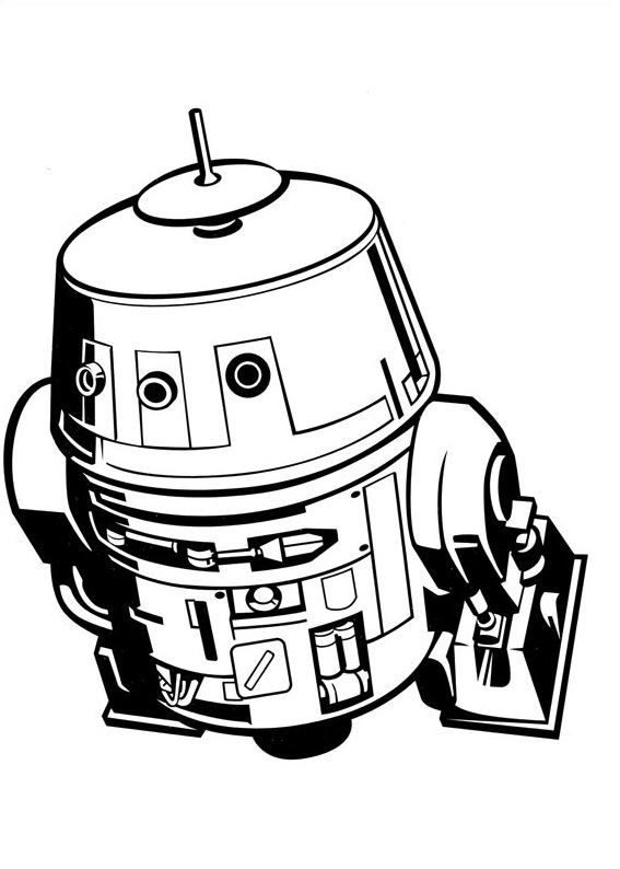 Coloriage Et Dessins De Star Wars Coloriage Star Wars Rebels