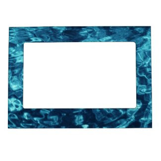Blue Abstract Magnetic Picture Frames