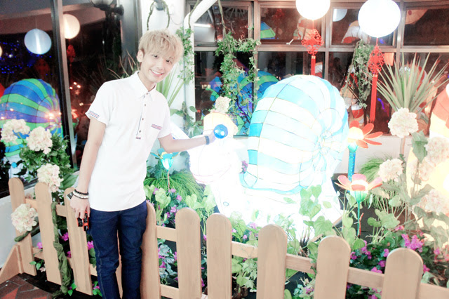 typicalben with snail at genting