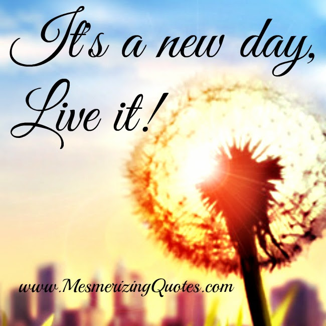Every Day Is A New Day To Learn Grow Develop Your Strengths Heal