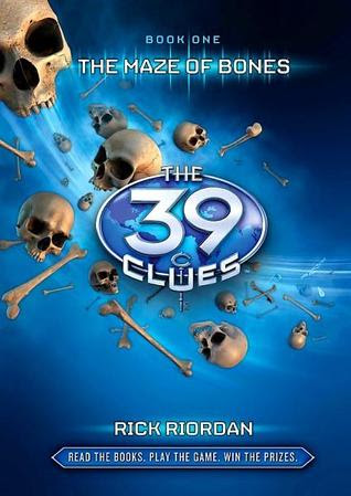 Book Review: The Maze of Bones (The 39 Clues, Book 1), By Rick Riordan Cover Art