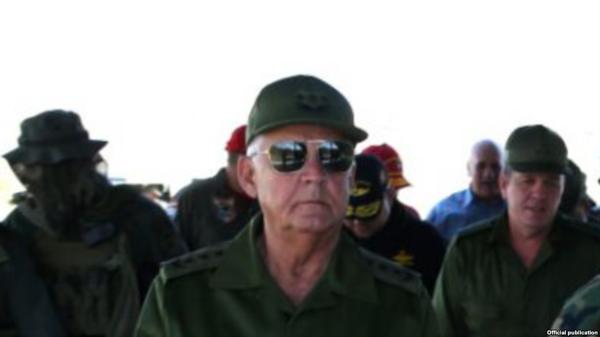 El general de cuerpo de ejército y viceministro de las Fuerzas Armadas Revolucionarias de Cuba, Joaquín Quintas Solá. (http://www.martinoticias.com/)