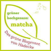 Matcha Button groß