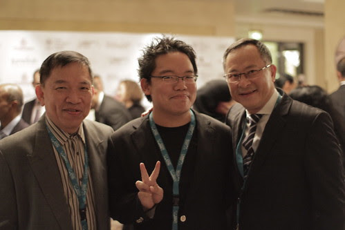 With dad and Johnnie To