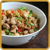 Stir-fried Pickled Radish with Pork