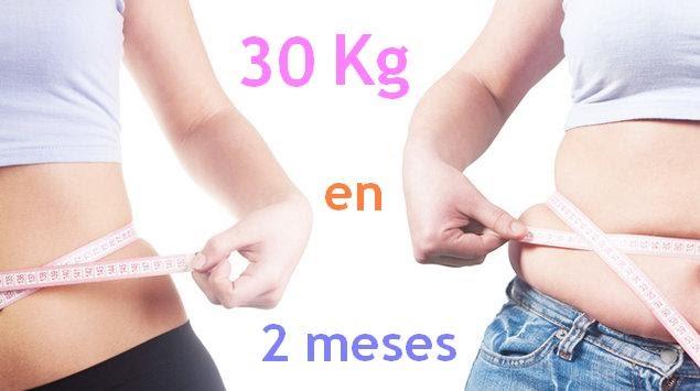 Bajar de peso en un mes 4 kilos son