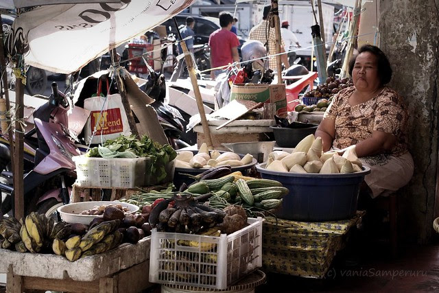 A Lady in the Market