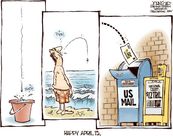 Cartoon by John Cole