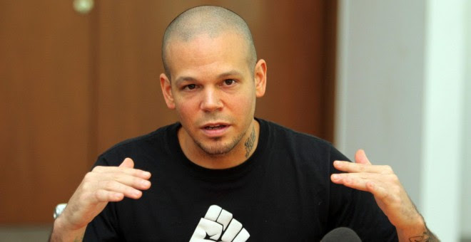 René Pérez, exlíder de Calle 13.-EFE