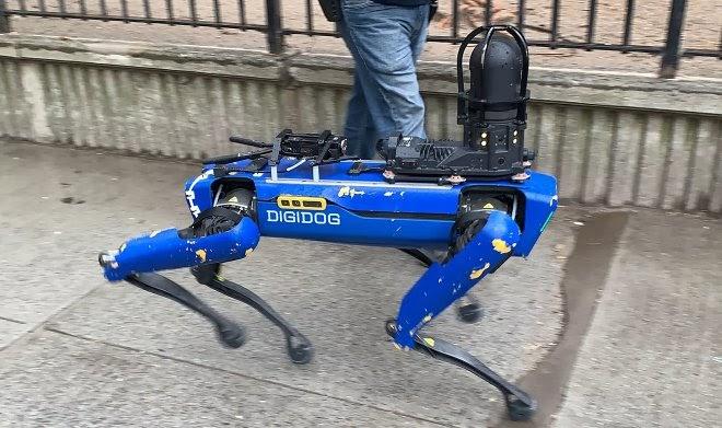 Полиция Нью-Йорка разрывает контракт с Boston Dynamics