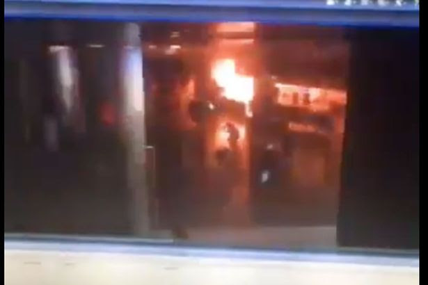 Istanbul Ataturk Airport terror attack: Shocking moment 'suicide bombers blew themselves up in terminal building'