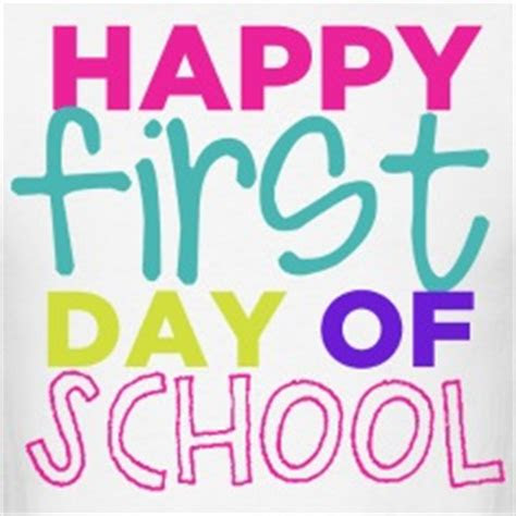 First Day Of School Quotation Archidev