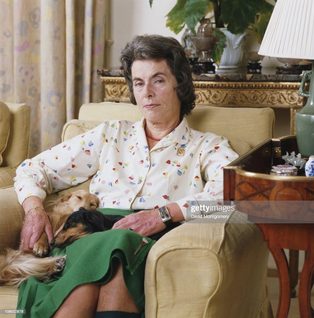 IMG PATRICIA KNATCHBULL, a Grande Dame of Britain's Elite