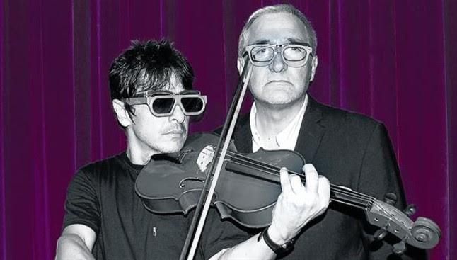 Juan Carlos Ortega, virtuoso humorista de las mil voces, y Xavier Sardà estrenan obra en Barcelona.