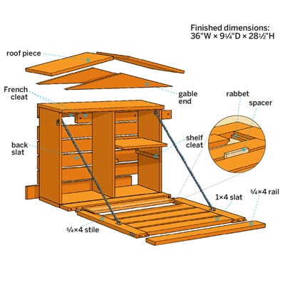 Overview | How to Build a Fold-Down Murphy Bar | This Old House