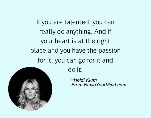 Fashion Statement Quotes Sayings If You Are Talented You Can