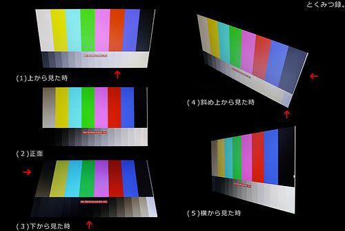 HP 18-5040jp 液晶視野角