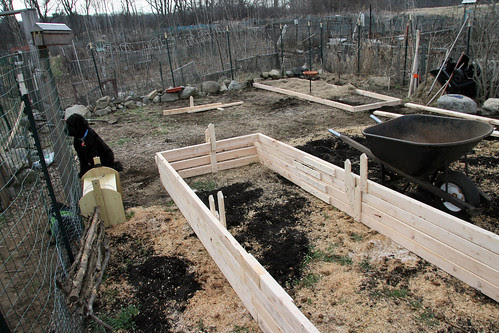 new raised bed contruction