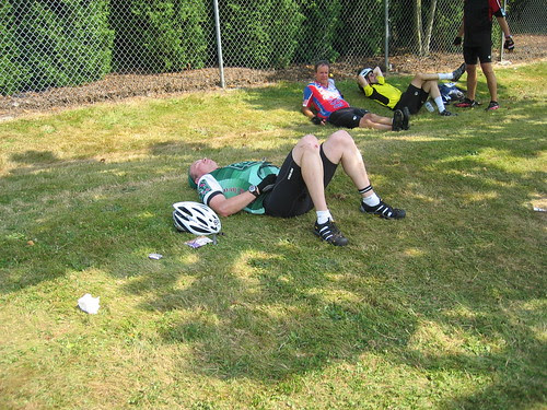 Jason at the Mt Vernon rest stop