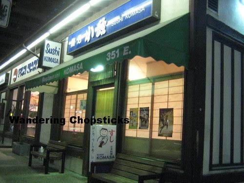 Sushi Komasa - Los Angeles (Little Tokyo) 1