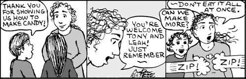 Home Spun comic strip #684