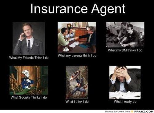 insurance agents troll memes img