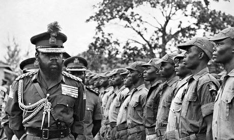 Colonel Ojukwu military governor of Biafra