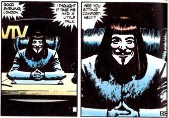 V for Vendetta comic