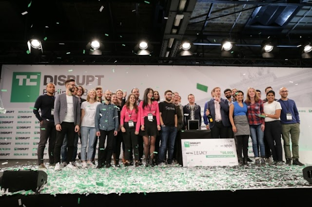 And the winner of Startup Battlefield at Disrupt Berlin 2018 is… Legacy