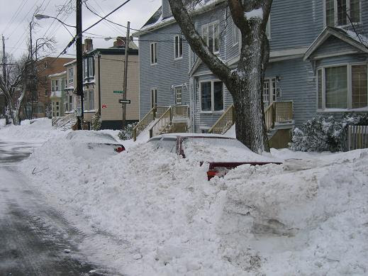 Halifax Snowstorm
