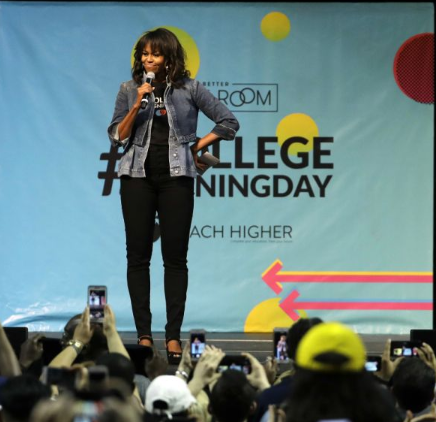 Michelle Obama Gives The Most Touching Speech At Temple University That Could Inspire You.See Here