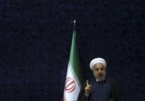 President Hassan Rouhani  of Iran / AP