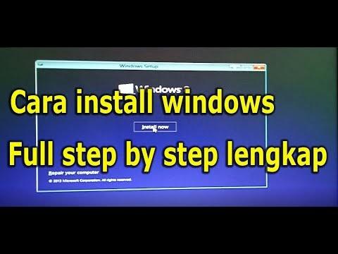 Cara Install ulang windows 8, 10 step by step lengkap - Hakko Blog's