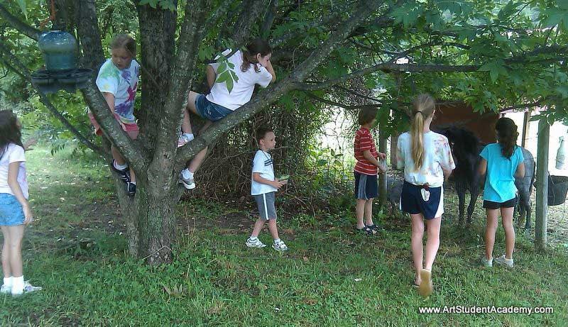 art camp tree