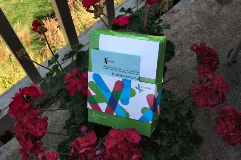 23andMe and the Geraniums