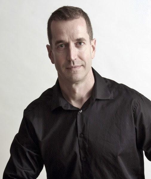 Headshot for author David McCaleb.
